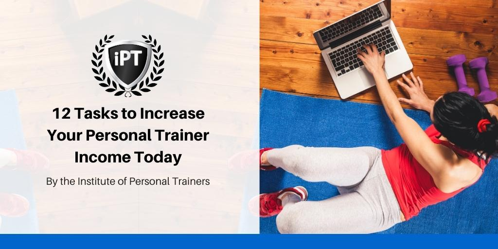 12 tasks to increase personal trainer income