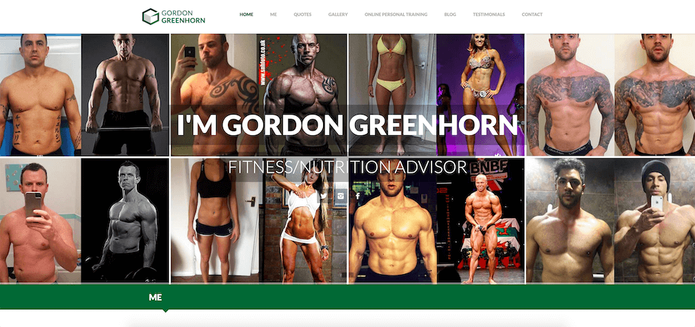 gordon greehorn personal trainer