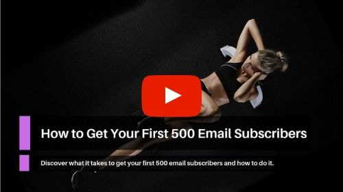 How to Get Your First 500 Email Subscribers