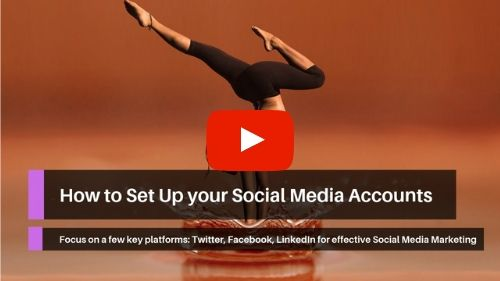 How to Set Up your Social Media Accounts