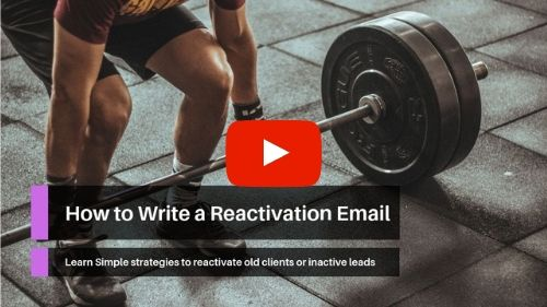 How to Write a Reactivation Email