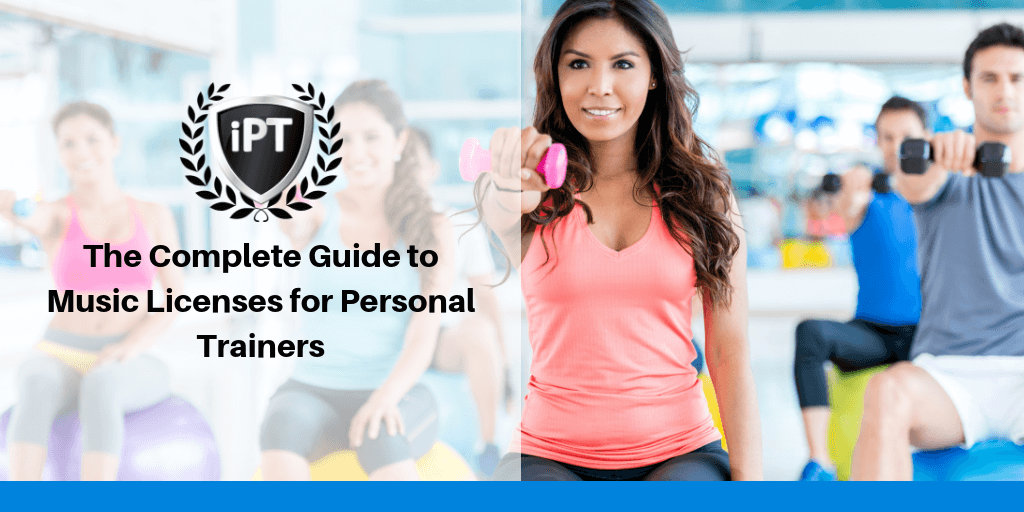 music license for personal trainers