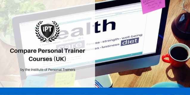 Compare personal trainer courses UK