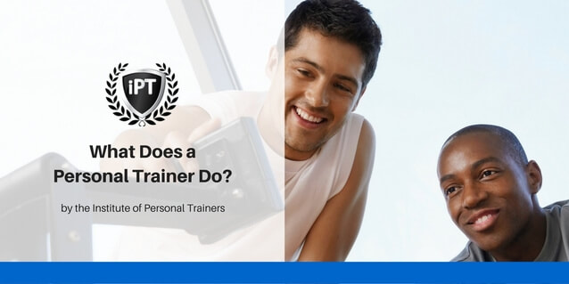 Personal trainer job description